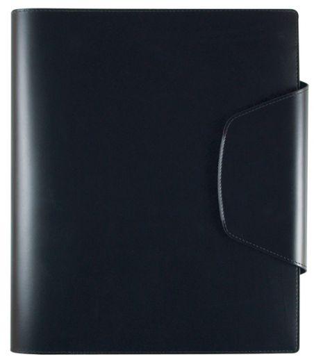 Папка с блоком для записи Lediberg  Open Design 230х295, черный, 81258423