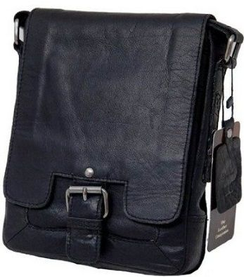 Планшет мужской Ashwood Leather Kingston 8341 Black