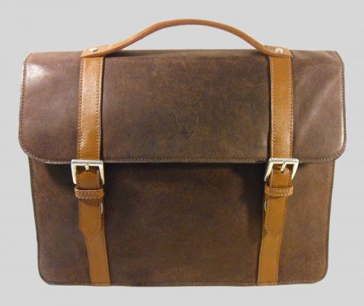 Портфель HIGHDESIGN Jacob-01 Camel brown