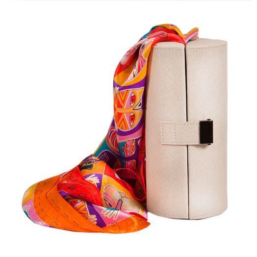 Набор подарочный для женщин Diplomat, Шкатулка для очков и шарф, Y6538-01004 Beije-СН