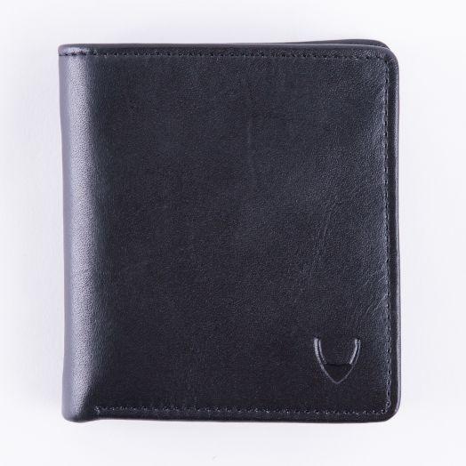 Классический кошелек для энергичных мужчин Hidesign Grenoble Black