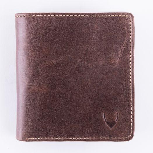 Классический кошелек для энергичных мужчин Hidesign Grenoble camel brown